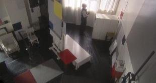 IN MONDRIAN'S STUDIO